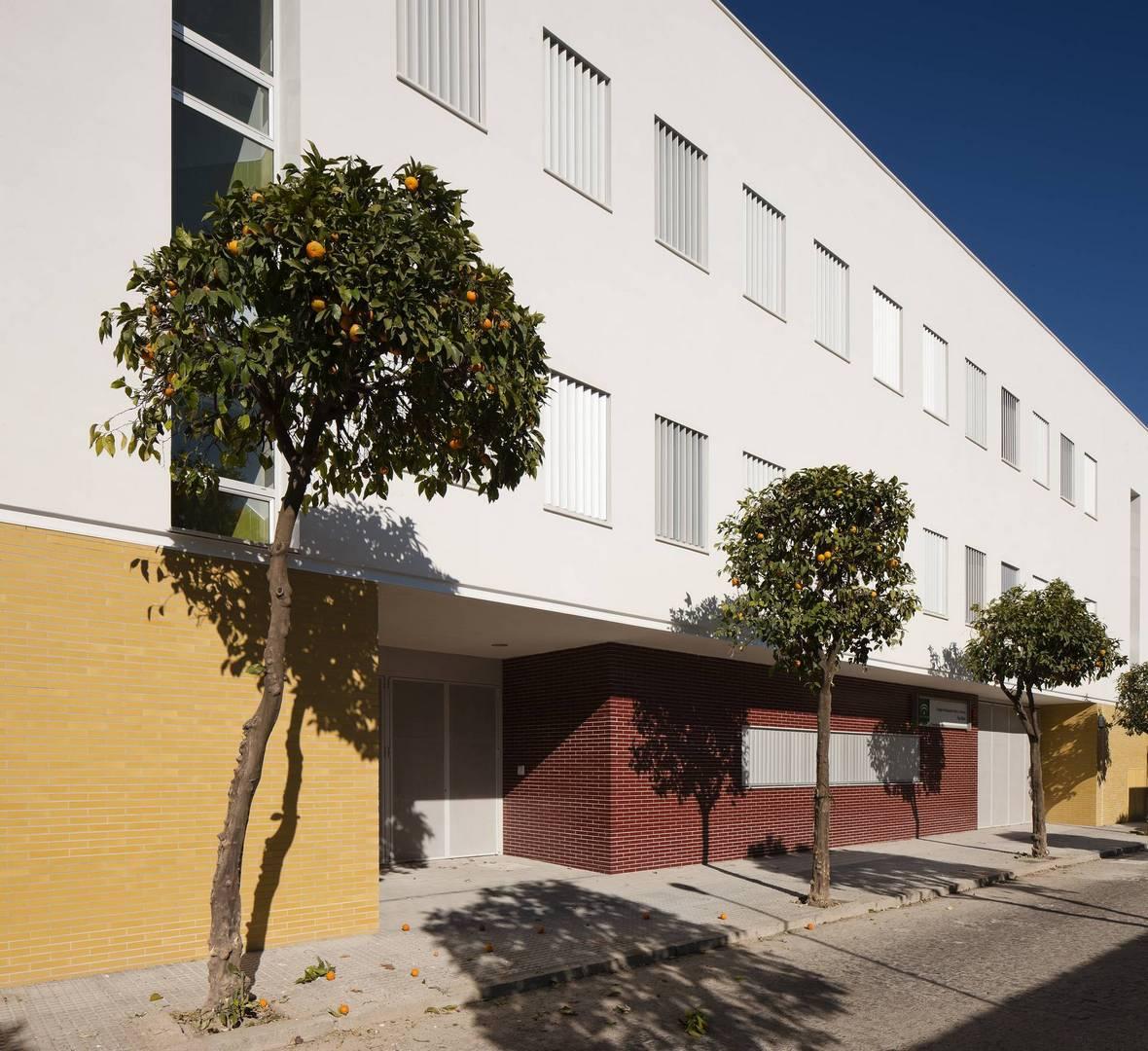 Colegio p blico fray albino en c rdoba unia arquitectos - Arquitectos en cordoba ...