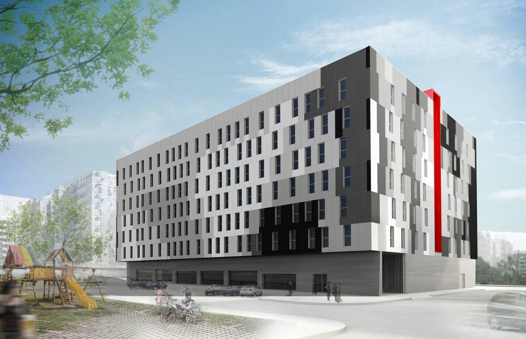 100 viviendas de protecci n oficial en m laga unia - Arquitectos malaga ...