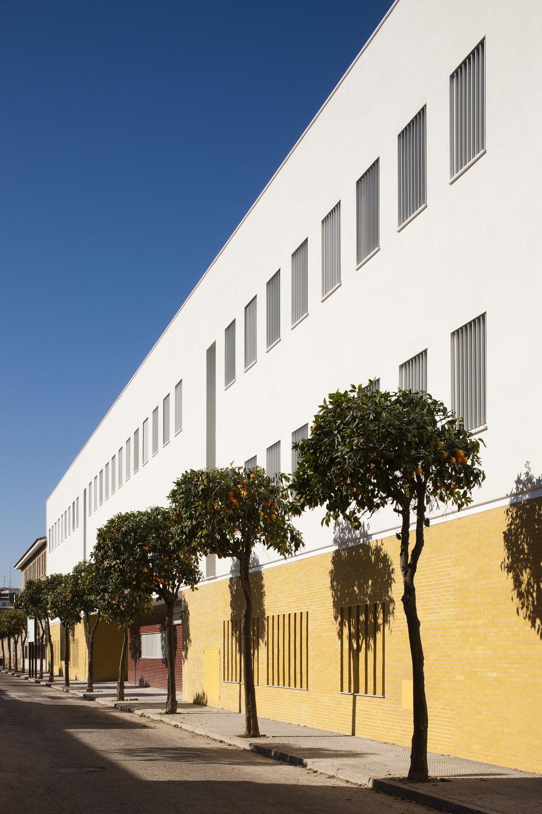 Centro de educaci n infantil y primaria en c rdoba unia for Arquitectos en cordoba