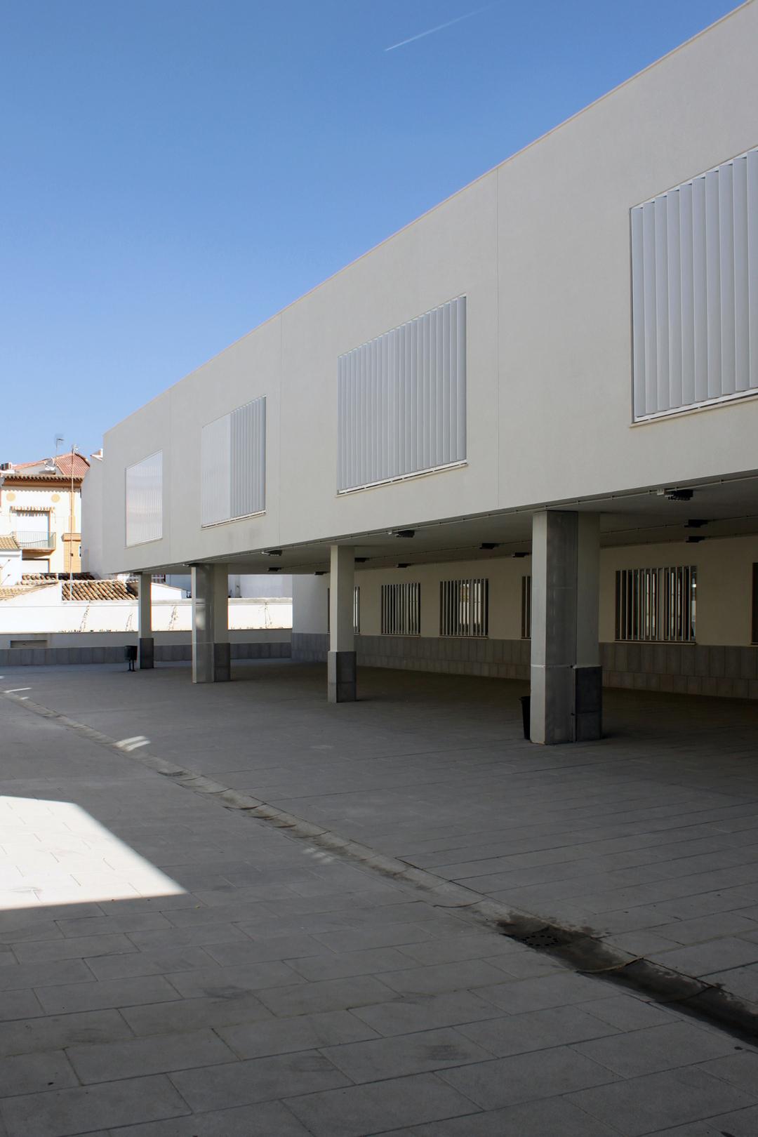 Instituto de ense anza secundaria en priego de c rdoba unia arquitectos - Arquitectos en cordoba ...